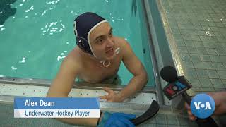 Puck, Goal, Sticks And A Snorkel: Underwater Hockey Stages A Comeback - VOAVIDEO