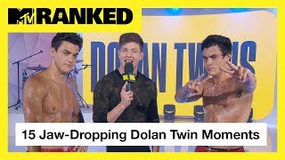 15 Times The Dolan Twins Made Our Jaws Drop 😱 | MTV Ranked - MTV