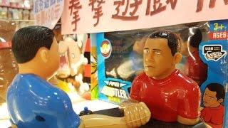 Obama the Arm Wrestler? Exploring Taipei's underground tech and toy scene - CNETTV