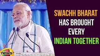 Swachh Bharat Abhiyan Has Brought Every Indian Together: PM Modi | Mango News - MANGONEWS