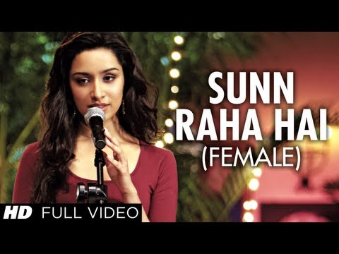 Sunn Raha Hai Na Tu Female Version Aashiqui 2 Full Video Song | Shreya Ghoshal