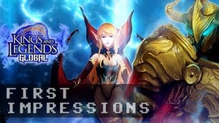 Kings and Legends Gameplay | First Impressions HD