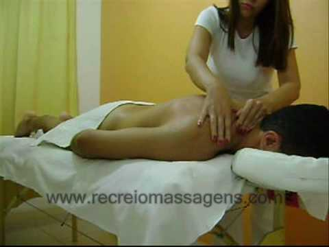 Massagem Relaxante Costas