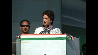 Priyanka Gandhi reaches Lucknow for her UP tour - ABPNEWSTV