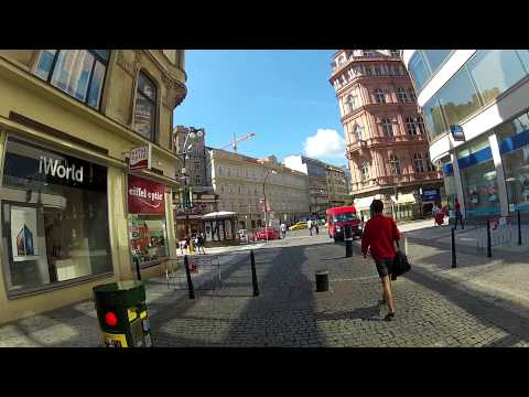 Prag, Czech Republic. Cycling beautiful streets.  Fatih Aksoy