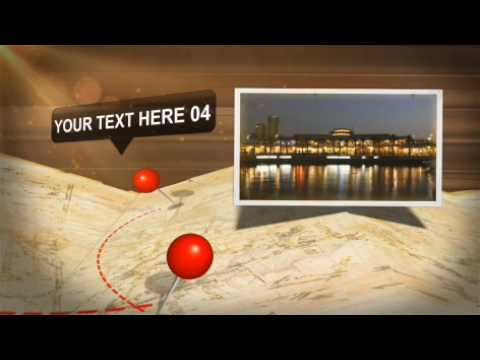 "after effects templates ""travel"""