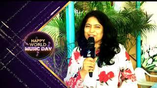 Usha Wishes All A Very Happy #WorldMusicDay - MAAMUSIC