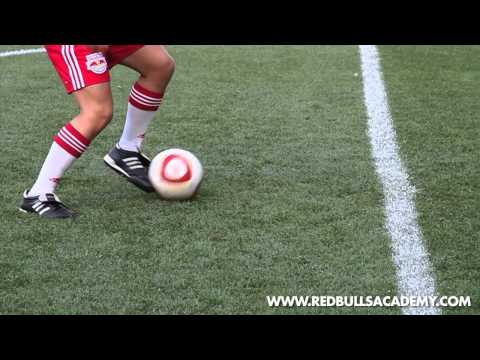 Learn the Drag Push [New York Red Bulls Academy]