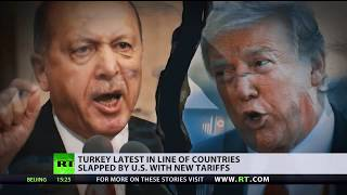 World financial markets suffer as US-Turkey ties decline, Washington vows to keep sanctions - RUSSIATODAY