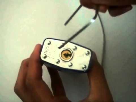 Como abrir cadeado