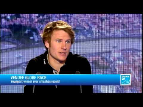 FRANCE 24 The Interview - François Gabart, winner of the Vendee Globe 2012-2013