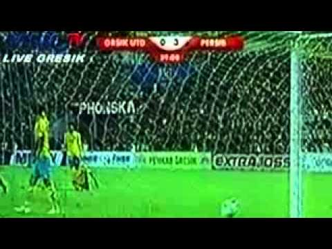 HD GRESIK UNITED  VS PERSIB BANDUNG 1 4 ALL GOALS & HIGHLIGHTS 20 APRIL 2014