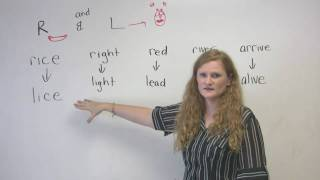 R and L Sounds Pronounciation, Pronounciation Video Lessons, Engvid