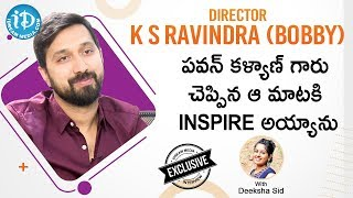 Director K. S. Ravindra (Bobby) Exclusive Interview || #Venkymama || Talking Movies With iDream - IDREAMMOVIES