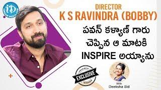 Director K. S. Ravindra (Bobby) Exclusive Interview    #Venkymama    Talking Movies With iDream - IDREAMMOVIES