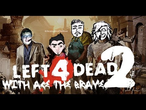 -FALKO & -DIX games - QUACK - Left 4 Dead 2 #4 (vista tripla WITH Ace The Brave)