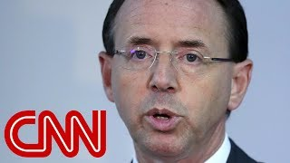 1 law could determine who replaces Rosenstein - CNN