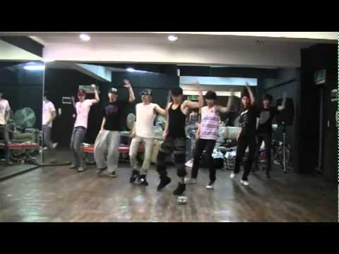 Infinite - Be Mine mirrored dance practice