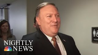 Senate Panel Approves Mike Pompeo For Secretary Of State | NBC Nightly News - NBCNEWS