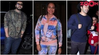 Sonakshi Slays In A Multi Coloured Outfit | Arjun, Varun's Casual Avatar In A Sweatshirt & More - ZOOMDEKHO