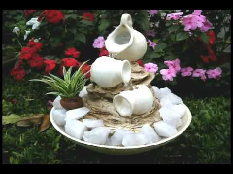 Peque as fuentes de agua feng shui jardines e interior for Caidas de agua para jardin