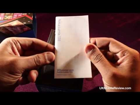 Nokia Lumia 720 Unboxing