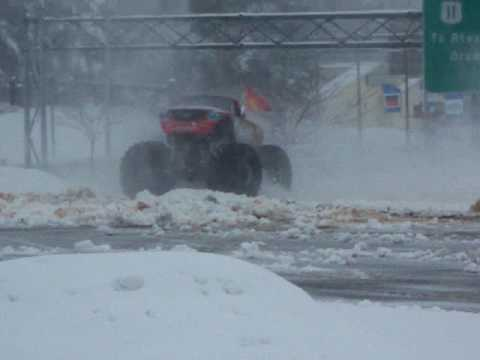 Advance Auto Part's Grinder or a monster snow-blower?