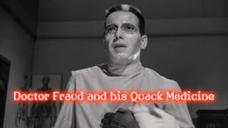 Royalty FreeBackground:Doctor Fraud and his Quack Medicine