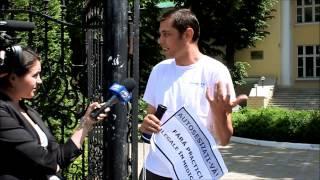Protest Hyde Park în fața Ministerului Sănătății