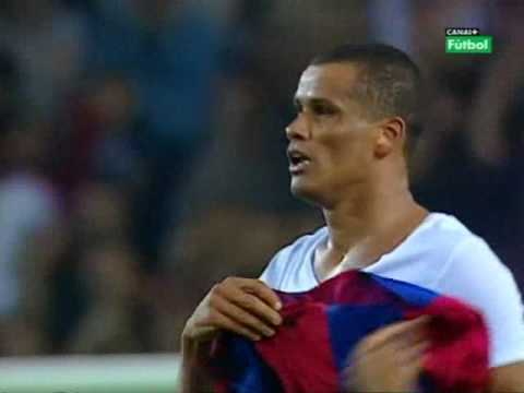 GOLAZO CHILENA RIVALDO BARCELONA VALENCIA HD ALTA CALIDAD Y SONIDO BICYCLE KICK