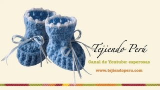 of comments on Zapatitos para bebé en crochet (Parte 1) - YouTube