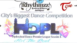HDPL | Hyderabad Dance Premier League Season 2 Promo - TELUGUONE