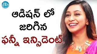 Actress Shravya About Her Funny Incident During Audition || #Vanavillu || Talking Movies With iDream - IDREAMMOVIES