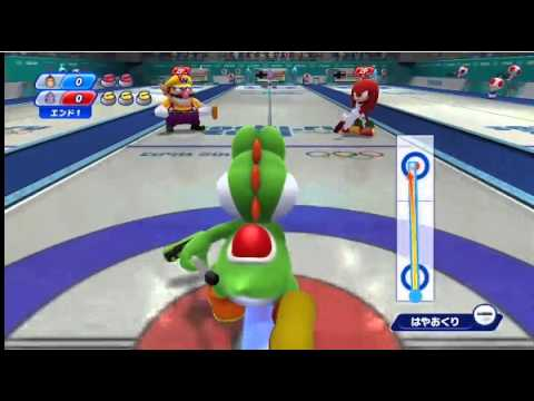 Mario & Sonic at the Sochi 2014 Olympic Games Wii U - Gameplay Footage (Nintendo Direct)