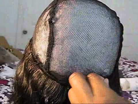 How to Make SIDE PART wig (I-part)