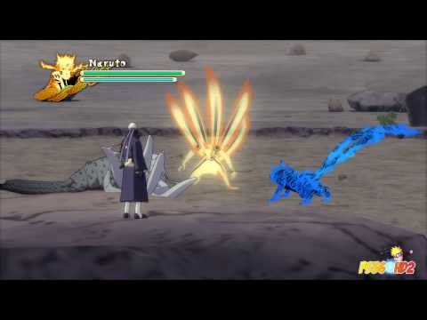 Naruto Shippuden Ultimate Ninja Storm 3: Tobi vs Naruto Boss Battle