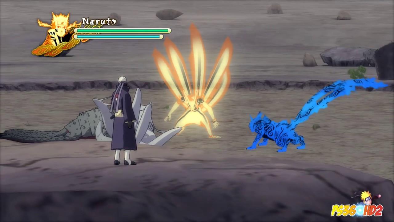 Naruto vs Bijuu
