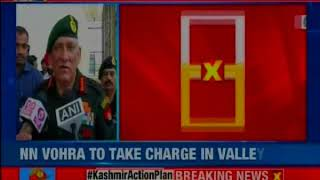 Hoping for better situation in coming days: Army Chief on Governor's rule in J&K - NEWSXLIVE
