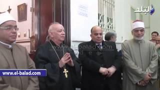 بالفيديو..راعى كنيسة الروم الكاثوليك بالمنصورة ردا على 'مخيون: 'درسنا القرآن ونعرف أن الإسلام جاء للخير'