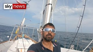 Sailor injured during Golden Globe race rescued after three days - SKYNEWS