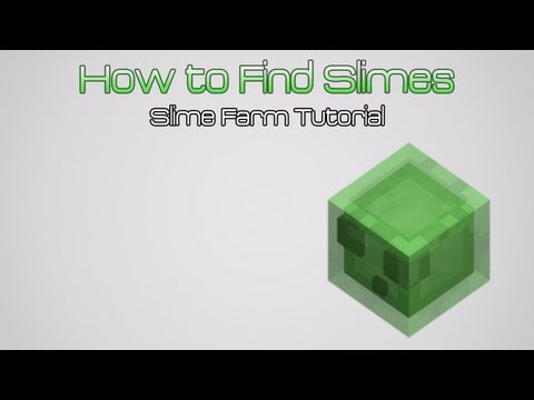 Minecraft Beta 1.7 Slime Trap Tutorial - How to Farm Slimes for Slimeballs