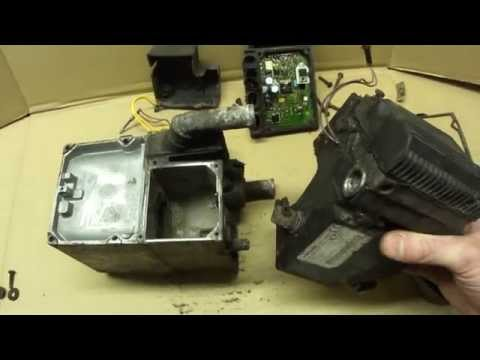 Разборка WEBASTO Thermo Top S disassembly