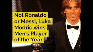 Not Ronaldo or Messi, Luka Modric wins FIFA Best Men's Player of the Year award - ABPNEWSTV