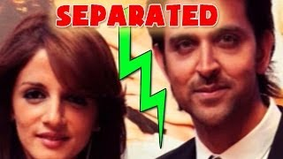 Hrithik Roshan -- Sussanne Roshan separation leaves Bollywood shocked - ZOOMDEKHO