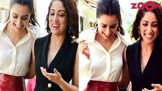 Shraddha Kapoor & Yami Gautam Promote Their Film 'Batti Gul Meter Chalu' & More | Bollywood News - ZOOMDEKHO