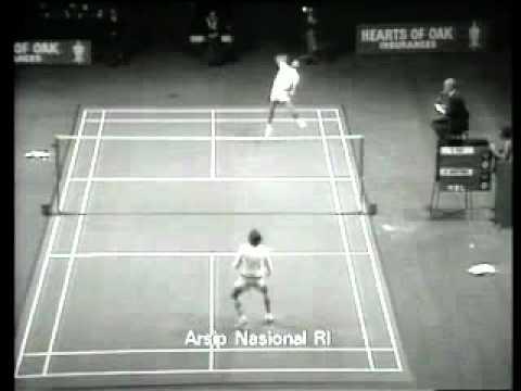 1975 All England Badminton Final :Sven Pri vs Rudy Hartono 梁海量 Classic