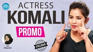 Nepolean Movie Actress Komali Exclusive Interview - Promo || Talking Movies With iDream - IDREAMMOVIES