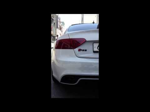 AUDI RS5('13) ABT EXHAUST SOUND (with Valve Control)