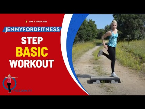 Step Aerobics BASIC - Aspen Trail - JENNY FORD