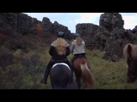 Þingvellir Langistígur 1